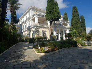 Дворец Ахилион, остров Корфу