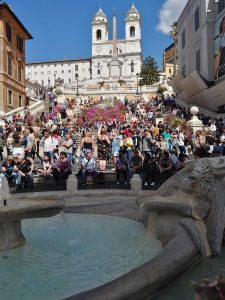 The Spanish Steps Rome Italy