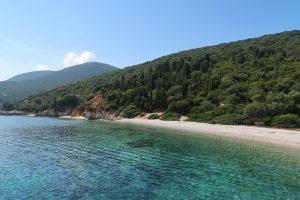 плаж на остров Итака