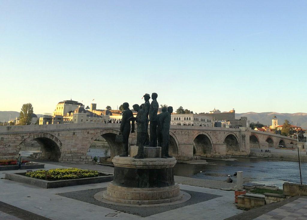 паметници, град Скопие, Македония